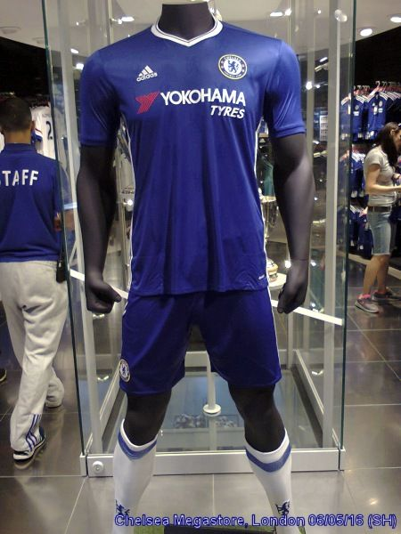 New Chelsea strip for season 2016/7.