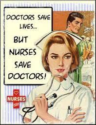 True, buuuut nurses save a helluva lot of lives too ;)