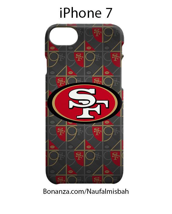San Francisco 49ers Pattern iPhone 7 Case Cover