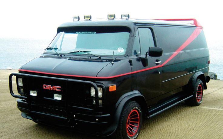 """""""The A Team"""" used car in to tv series: 1983 GMC Vandura"""