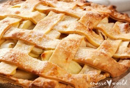 enavve world : Amerikanischer Apfelkuchen #ichbacksmir #apfelkuchen #apfel #apple