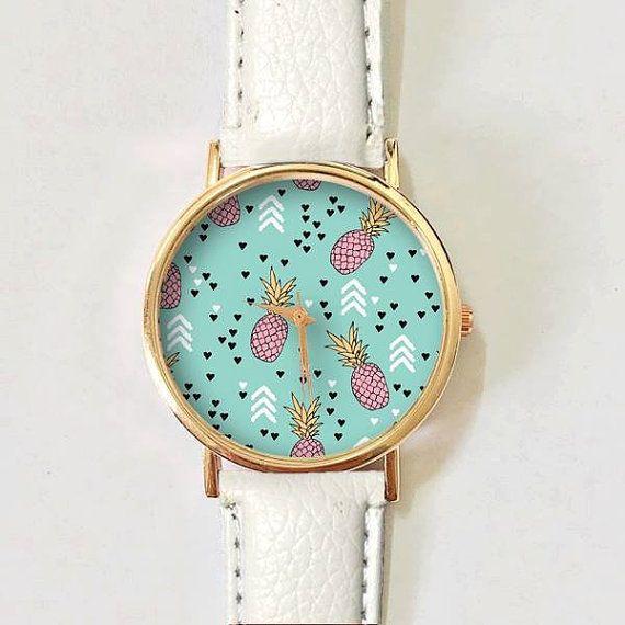 Pineapple Watch, Arrow Watch, Women Watches, Boyfriend Watch, Woman Watch, Ladies Watch, Gift, Gold watch, Rose Gold, Silver Watch, Gift