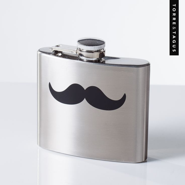 10 days and counting!  There is still time to order stock in from Torre & Tagus for Father's Day gifts! Bring out Dad's playful side with this fun Printed Mustache Stainless Steel 5 oz Flask.  A great addition to his Barware collection!  #fathersdaygifts #FathersDay #giftideas