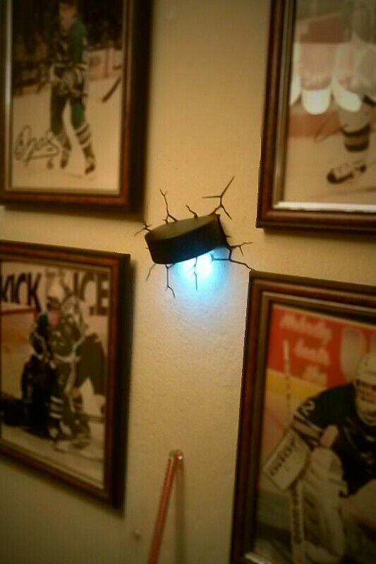My hockey puck light