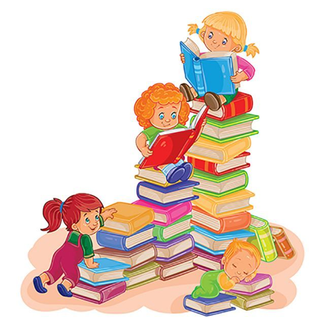 Small Children Reading A Book Reading Book Children Png And