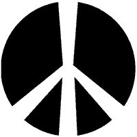 "Logos Occultes:""Known as the 'peace sign' throughout the 1960's and into the present day, this symbol is the Teutonic rune of death. 1950's peace advocate Gerald Holtom may have been commissioned by communist sympathiser Bertrand Russell to design a symbol to unite leftist peace marchers in 1958. It is clear that either Holtom or Russell deemed the Teutonic (Neronic) cross as the appropriate symbol for their cause.Throughout the last 2,000 years this symbol has designated hatred of…"