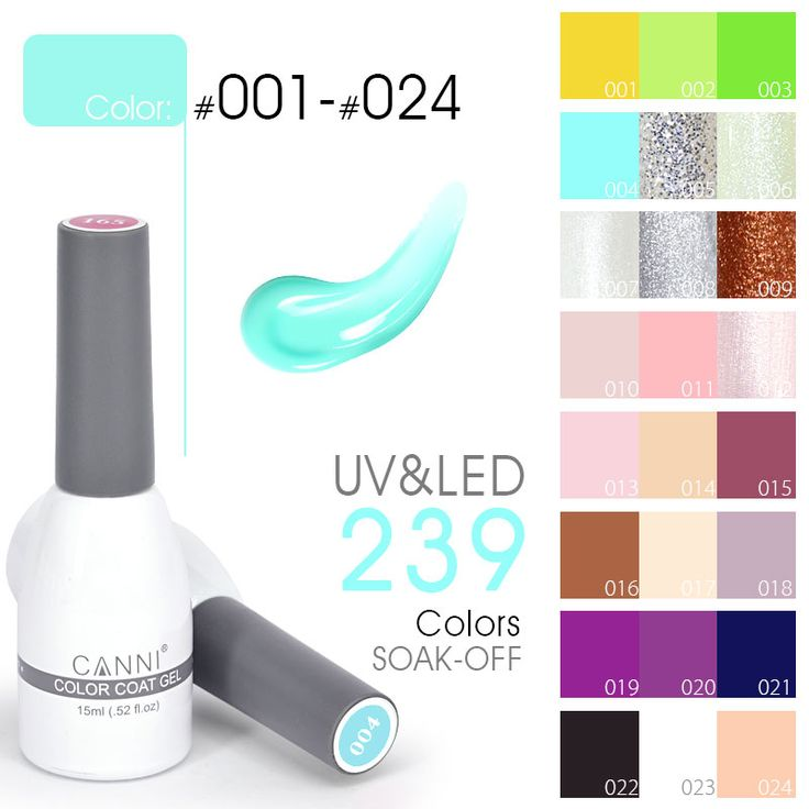 CANNI Factory Supply New 239 Colors 15ml Nail Art Beauty Soak off UV LED Color Paint Designs Nails Gel Polish Vernish Lacquers