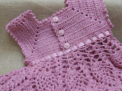 ▶ Vestido de Piñas Crochet parte 3 de 3 - YouTube