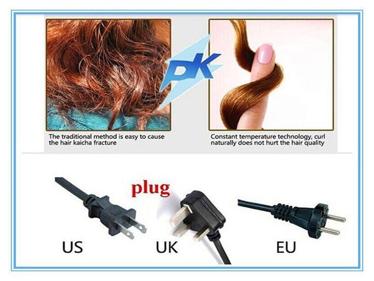 2014 новое поступление бесплатная доставка волосы бигуди щипцы для завивки автоматическая кудри Modelador де Cachos магия волос бигуди волшебные бигуди