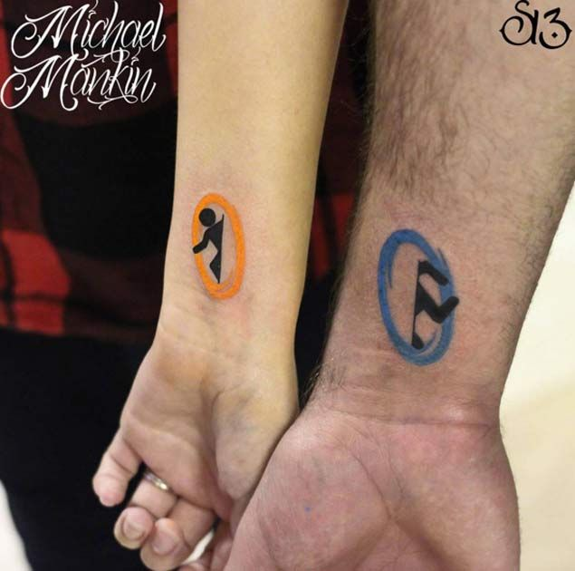 Partner Tattoo Kreis: Die Besten 25+ Cool Couple Tattoos Ideen Auf Pinterest