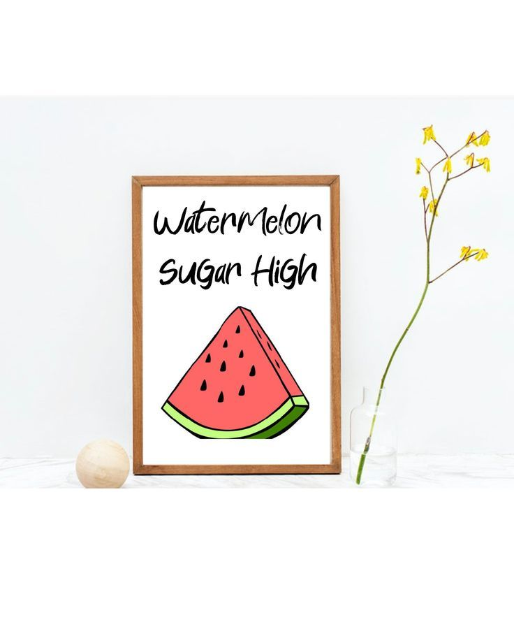 Harry Styles Watermelon Sugar High Digital Download Fruit Etsy In 2020 Funny Phrases Phrase Hp Sprocket Photo Paper