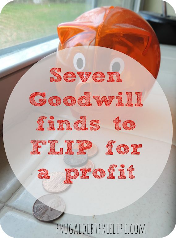 7 Thrift Store Items you can FLIP for a ProfitWhich do you enjoy more: thrifting or making money? What if you can combine your love for both? Today I wanted to share some items you can purchase at a thrift store and sell for major profit.
