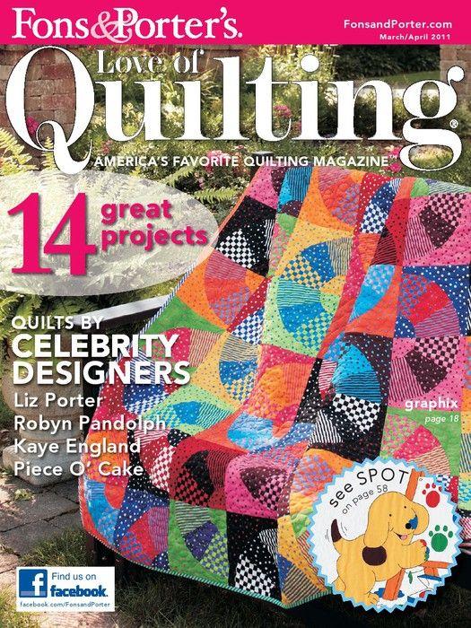 Love of Quilting March/april 2011 civil war sampler series quilt part 3 final