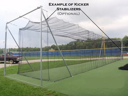 Batting cages | Batting cage backyard, Softball, Baseball - Outdoor Batting Cage. Batting Cages Batting Cage Backyard