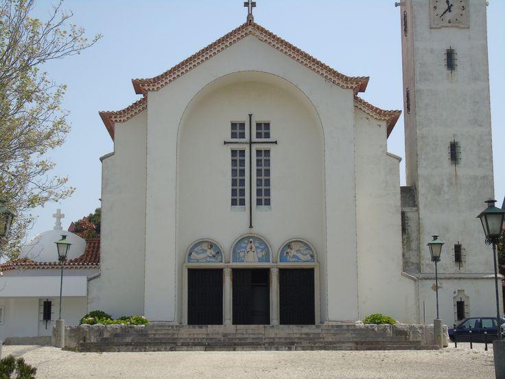 Jorge Barradas   Igreja Paroquial da Parede   1952 /// Jorge Barradas   Parede´s Parish Church   1952 #Azulejo #JorgeBarradas