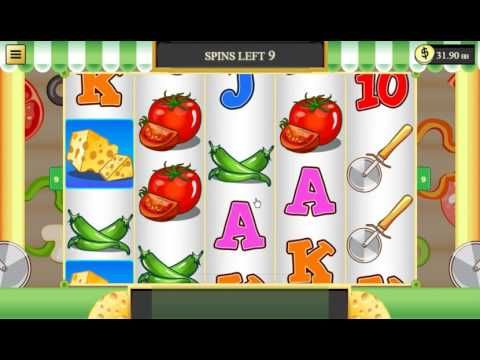 Pizza Delivery @ 45 cents Real Play @ Bingo Cafe