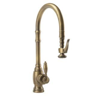 Tuscan Brass Annapolis Kitchen Faucet Single Handle With Pull Out