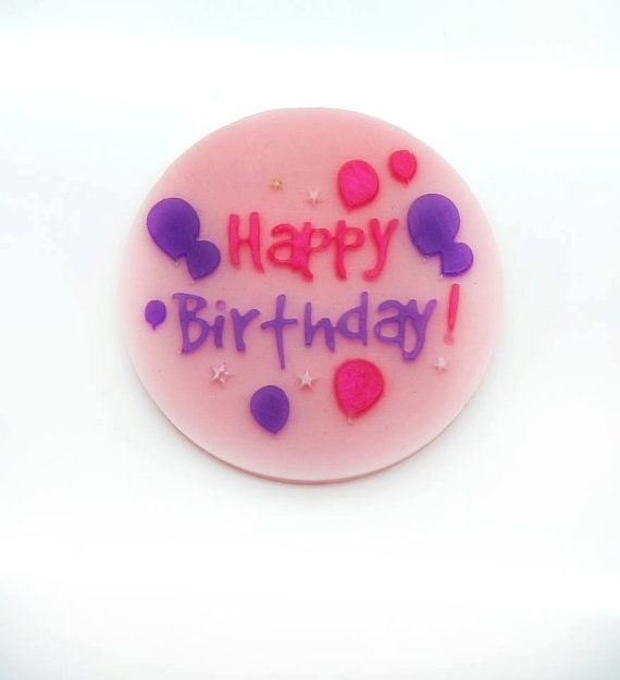 10 happy birthday soap bars  happy birthday by AliceInWonderSpa