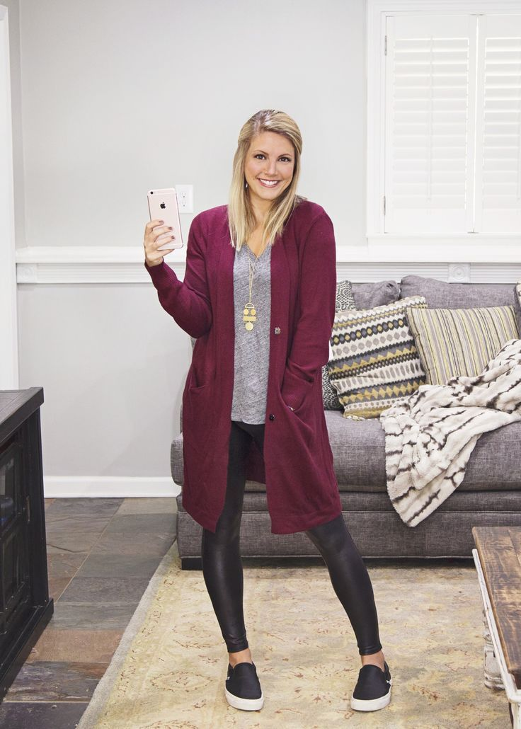 Trunk Club Review 2 Comfy Fall Clothes | Perfect Cardigan Sweater | Faux Leather…
