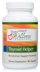 Thyroid Helper is the best natural thyroid supplement to support thyroid hormone formation, increase energy, increase metabolism and support healthy weight loss. Wellness Resources Thyroid Helper contains selenium, manganese, l-tyrosine, ashwagandha, and gugulipid. #thyroid