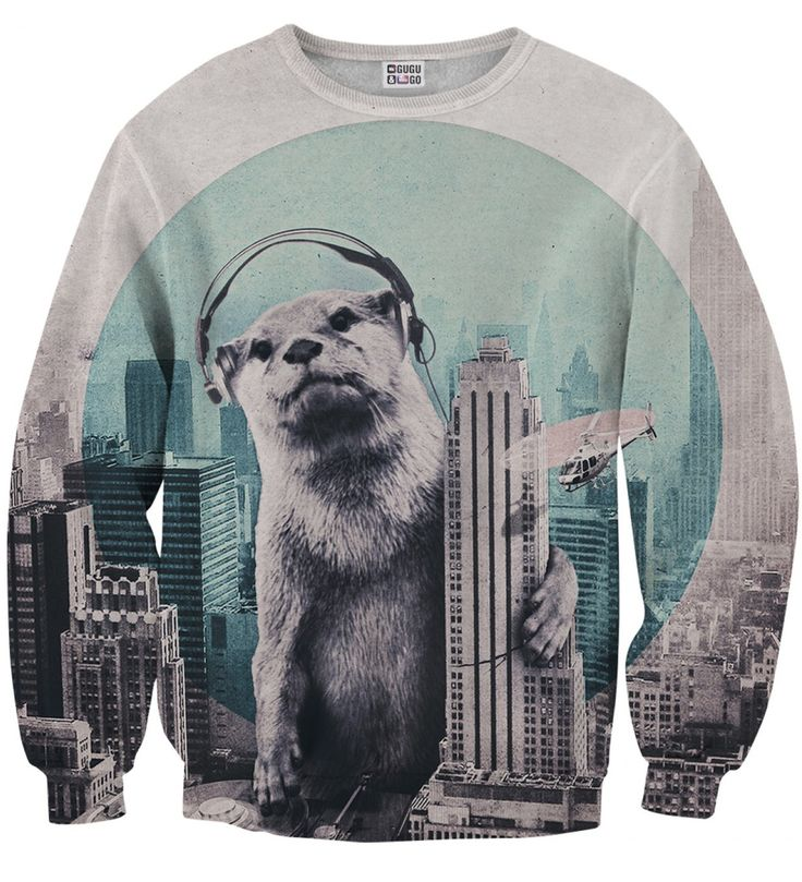 DJ sweater, Mr. GUGU & Miss GO
