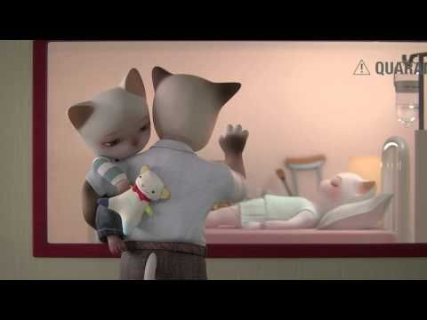 """Trois Petit Chats"", by Supinfocom [3D animated short film]"