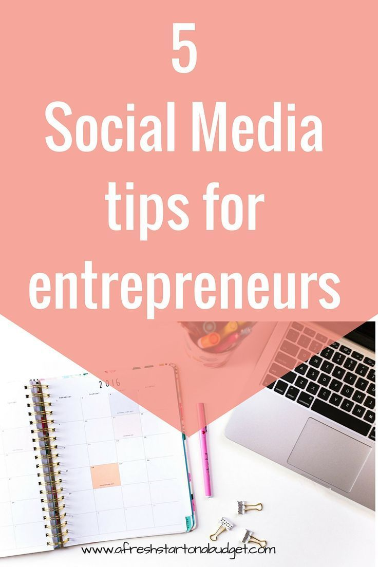 Some handy social media tips for business owners and bloggers. So check out these 5 social media tips for entrepreneurs that are important for you to know.