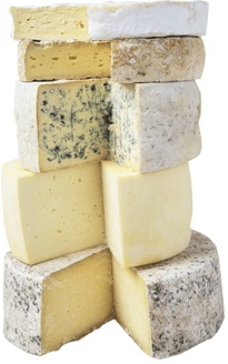 Caws Cenarth - more excellent Welsh cheeses from just a few miles away