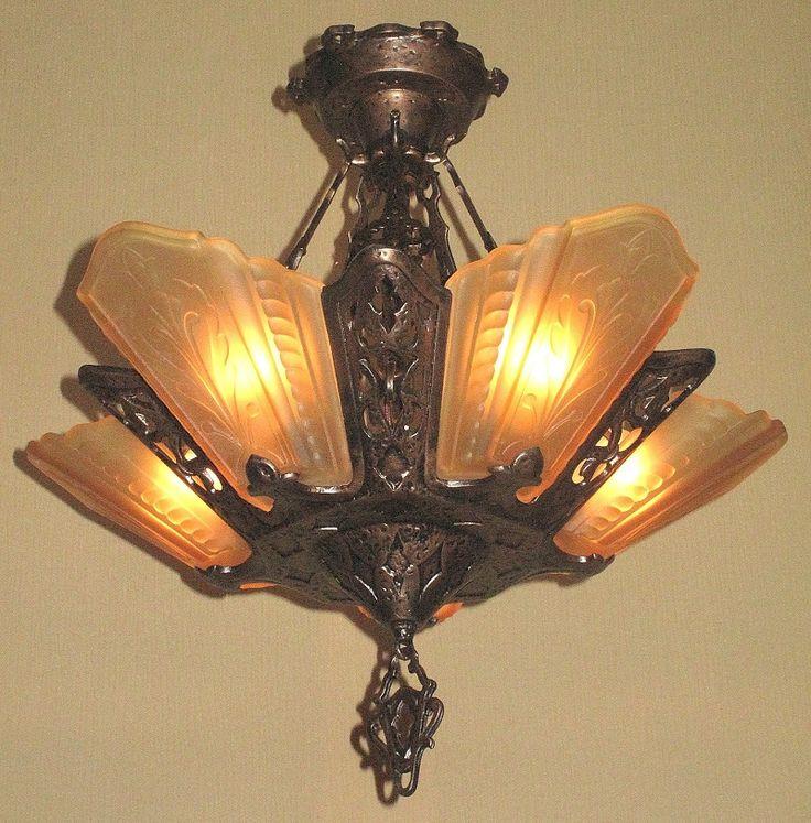 Vintage Revivals Light Fixture: 268 Best Vintage Lighting Images On Pinterest