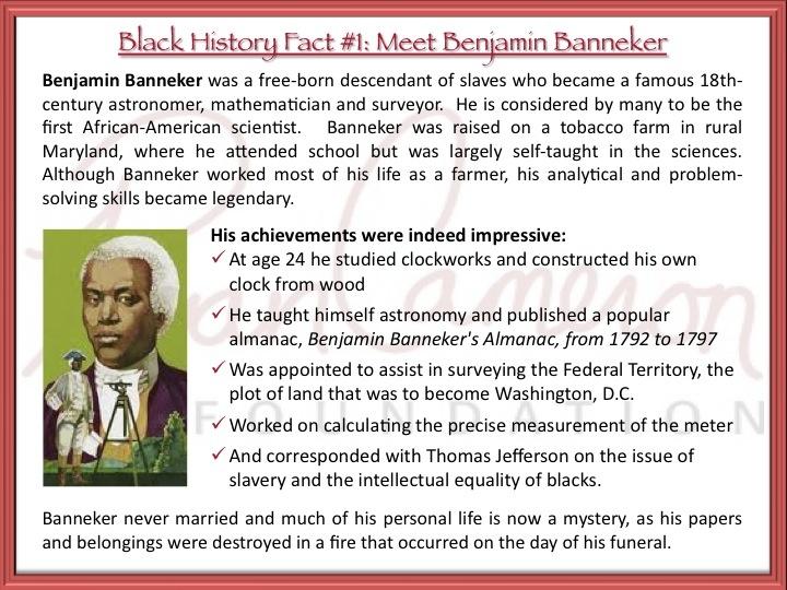 10 Interesting Facts About Benjamin Banneker