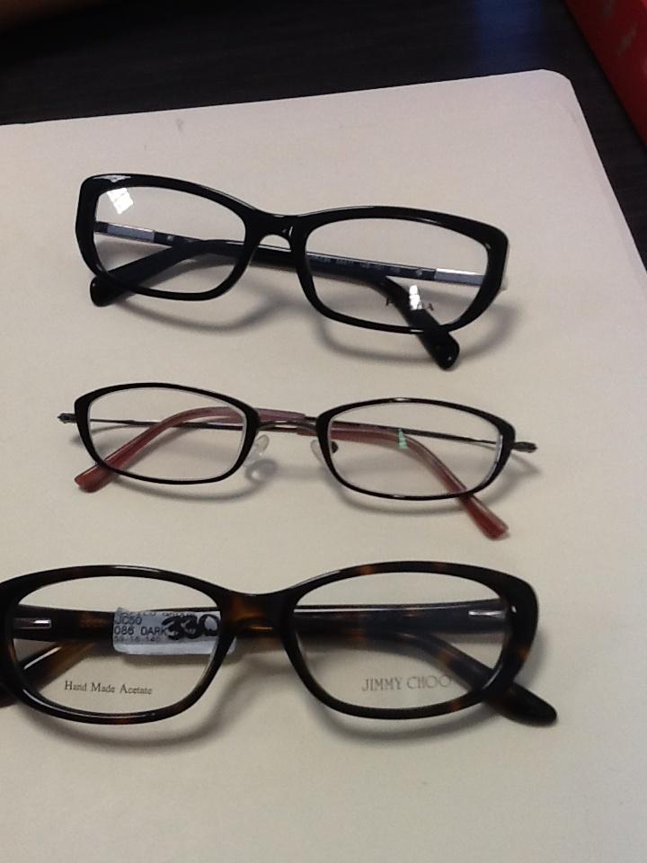 Cohen Optical   Jimmy Choo glasses are nice