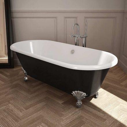 17 meilleures id es propos de baignoire peinte sur pinterest peinture de - Renovation baignoire fonte ...