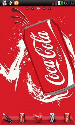 Coke World Theme for Go Launcher EX