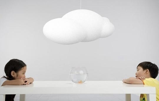 Lámpara de nube! cloud lamp: Lamps Design, Dreams Home, Cloud Lamps, Lights Fixtures, Lights Shades, Child Rooms, Cloud Lights, Books Nooks, Kids Rooms