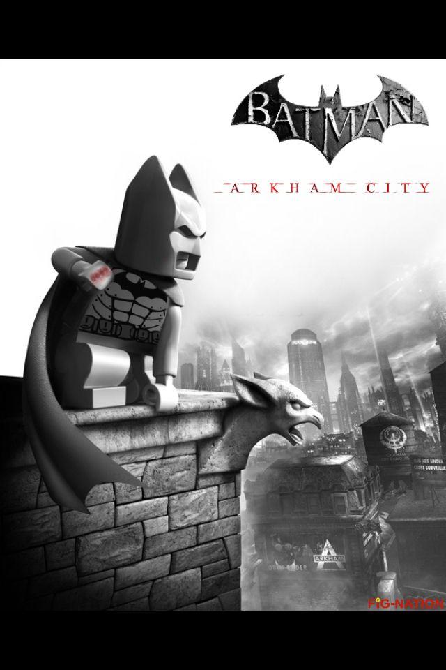 Lego Batman Arkham City  Lego movie posters  Lego