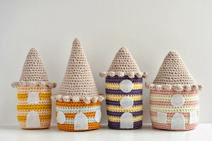 25 best crochet house ideas on pinterest - Casitas del bosque ...