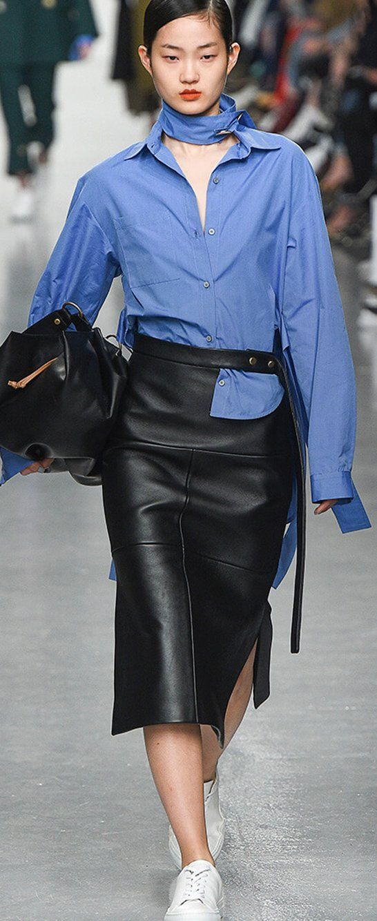 Shop our 'Reworked Shirt' edit and find the timeless staple taken to new levels with the addition of ruffles, exaggerated silhouettes and the addition of colour and pattern available online at Farfetch.com