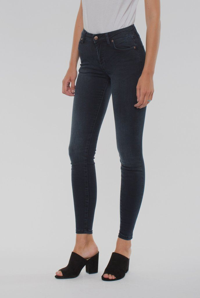 Denim Damen Lexy Skinny Jeans Dr