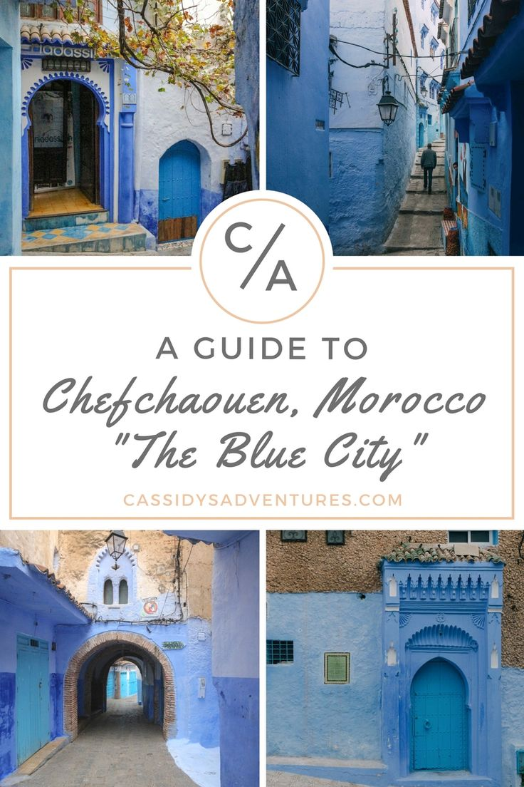 #Chefchaouen: A #Guide to the Blue City in #Morocco | What was once a secret respite for Jewish refugees from Europe, Chefchaouen (Arabic: شفشاون) is now becoming an alluring tourism #destination for #photographers, #writers, and #creatives. #Discover the northern #Moroccan city of #Chaouen along with #travel #tips and #history on #CassidysAdventures