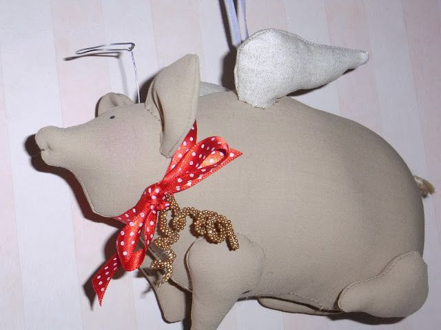 LA VIE EN ROSE: Maialino angelo tilda!!