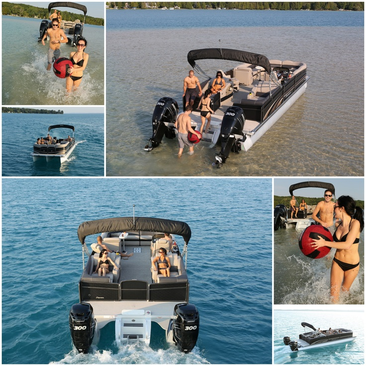 Summer fun on the Grand Isle from Premier Pontoons!