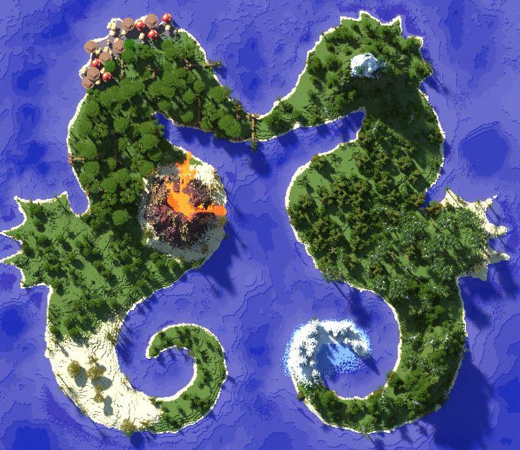 Minecraft Seahorse Islands