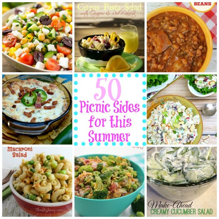 50 Picnic Sides - Lots of great choices!