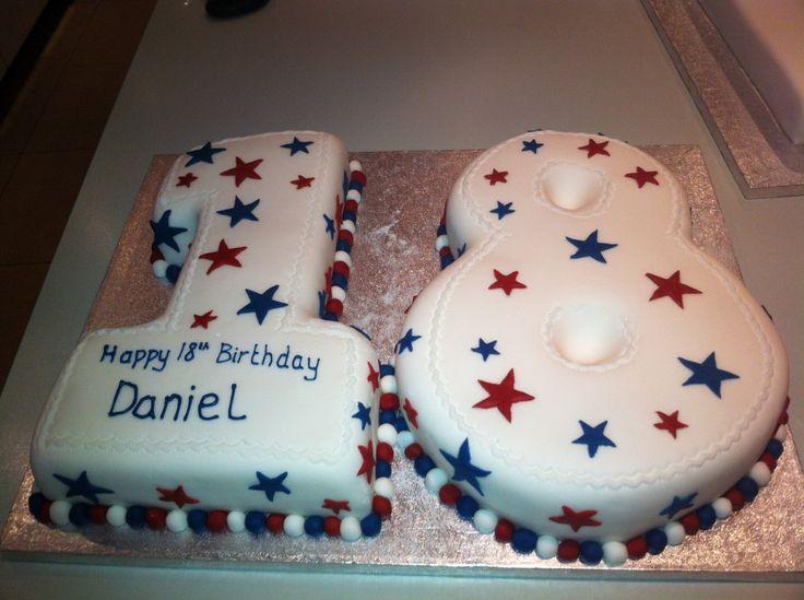 Die besten 25 geburtstagstorte 1 jahr ideen auf pinterest prinzessin jasmin kuchen star - Kuchen 18 geburtstag ...