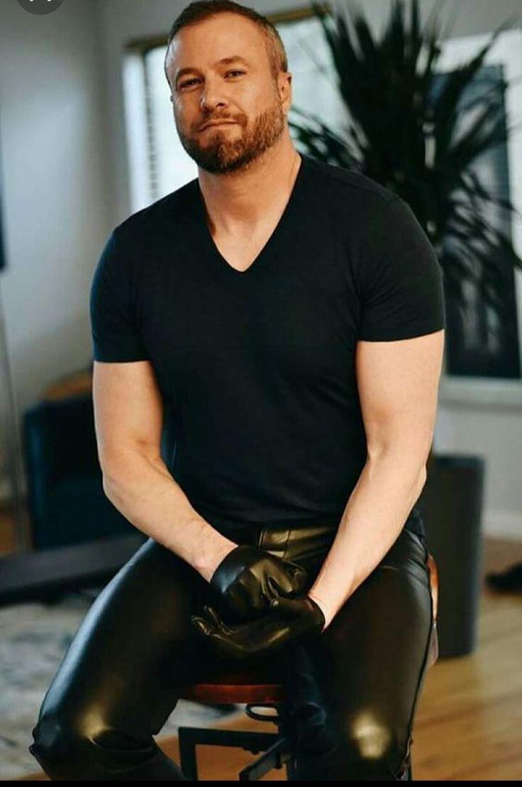 Men S Touchscreen Leather Gloves Male Celebrities Actors