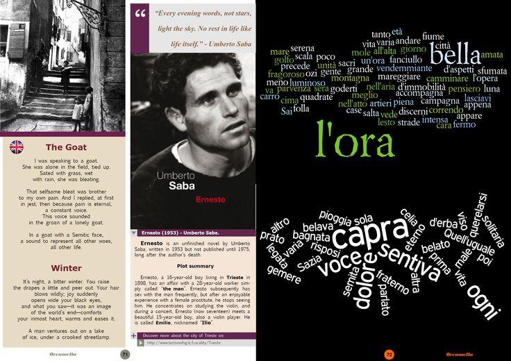 Umberto Saba, Italian Poetry. Page 4/5. Bocamolla Issue #5.