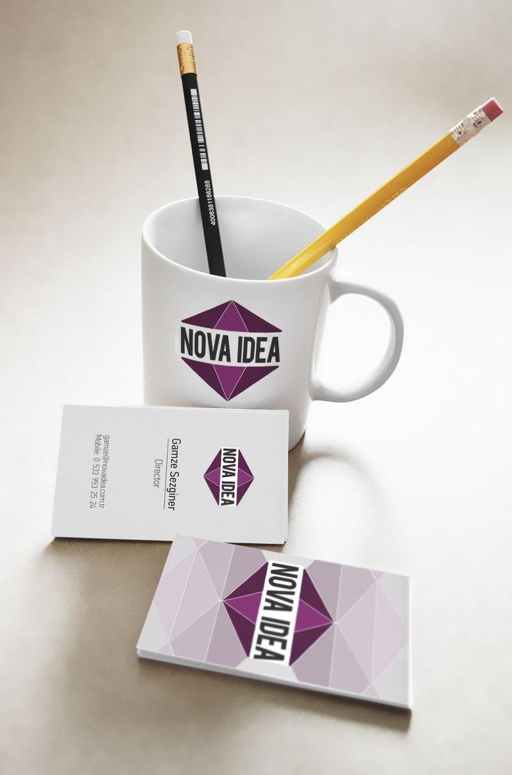 Nova Idea Logo ve Kartvizit Çalışması