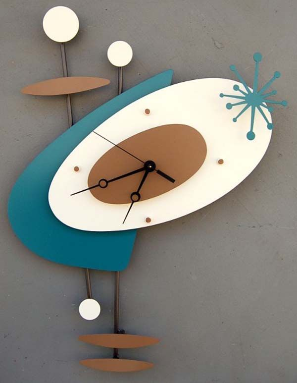 Modern Art Wall Clocks Steve Cambronne - SO COOL