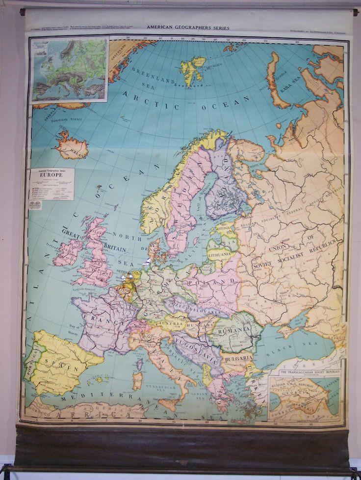 Europe American Geographers Series AJ Nystrom u0026