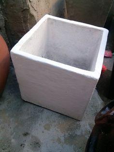 Aprendé a   hacer  moldes para  fabricar  macetas